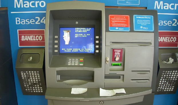 En Argentina permitirían extraer dinero de ATMs sin necesidad de tarjeta