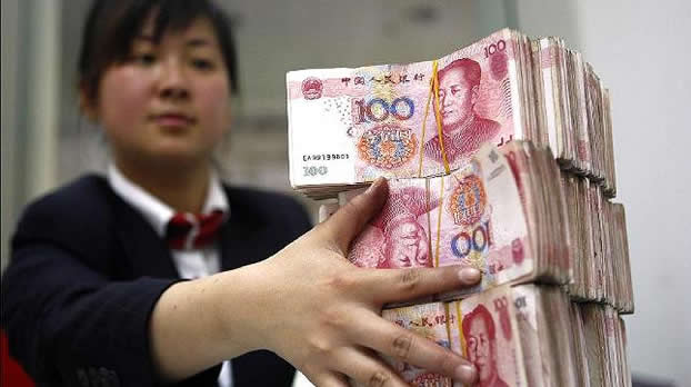 Bancos centrales buscan más yuanes