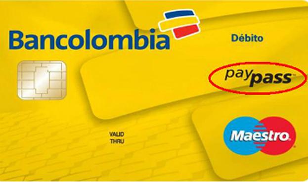 Morpho suministra tarjetas de débito de interfaz dual a Bancolombia
