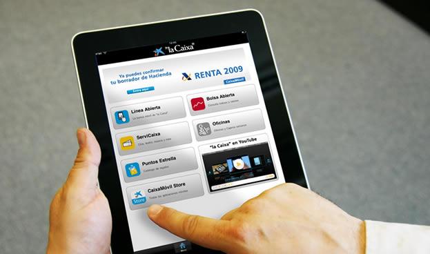 En España La Caixa alcanza los tres millones de clientes de banca móvil