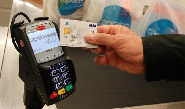 En España el número de tarjetas de pago contactless se duplica desde julio de 2012