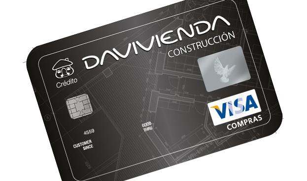 Visa y Davivienda lanzan primera tarjeta para la construcción