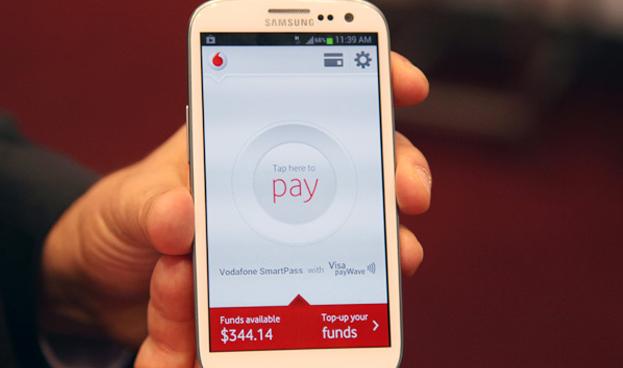 Vodafone lanza en España su billetera móvil