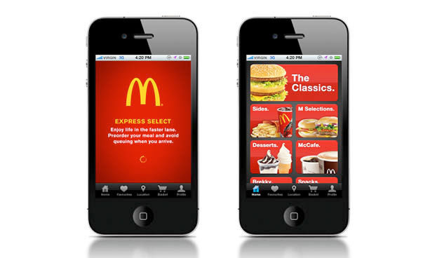 McDonald incluye la realización de pedidos a su sistema de pago móvil