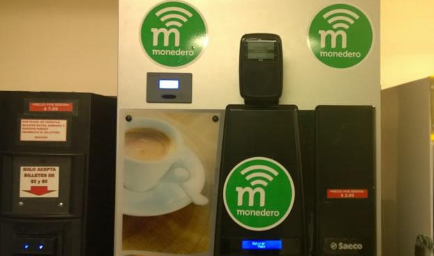 Visa lleva Monedero a las máquinas de comidas y las lavanderías de los edificios