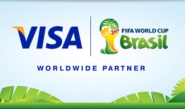 Gran aumento del consumo de tarjetas Visa en Brasil durante el primer fin de semana del mundial