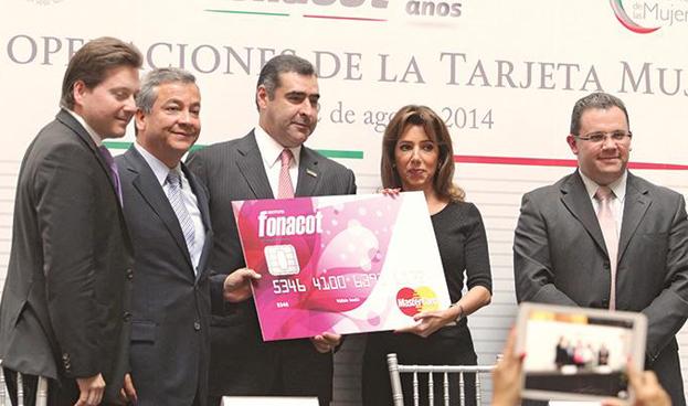 En México la tarjeta Fonacot se pinta de rosa