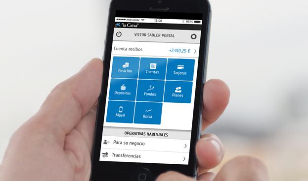 CaixaBank se consolida al frente del ranking mundial de la banca móvil