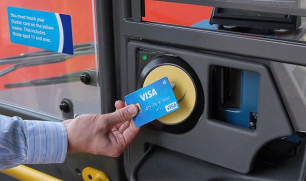 Visa lanza los pagos sin contacto en la red de transporte de Londres