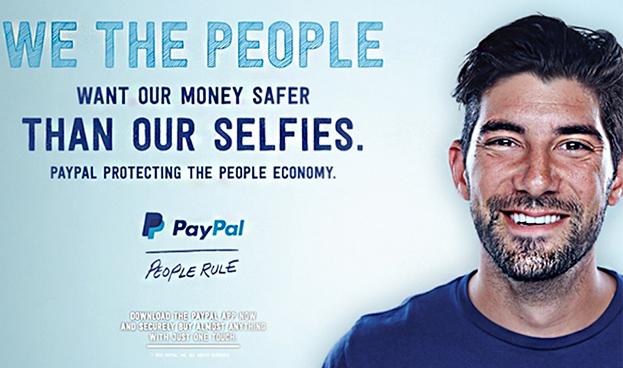 Paypal cuestiona la seguridad de Apple Pay en un anuncio