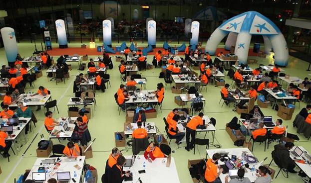 El español CaixaBank convoca una maratón de desarrollo de aplicaciones