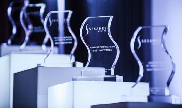 Premios Sesames 2014 entregados en conferencia CARTES Secure Connexions