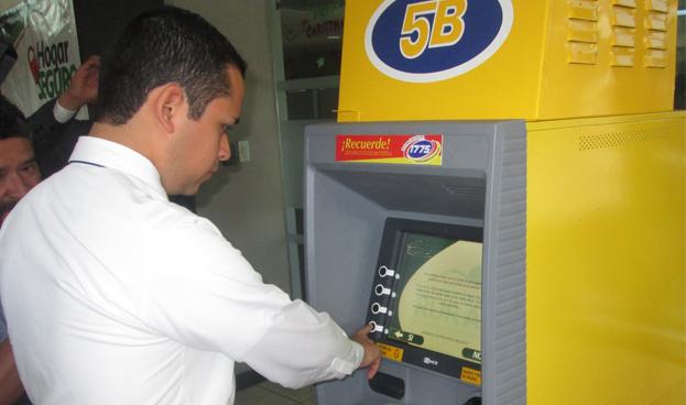 En Guatemala crean sistema móvil para retirar efectivo