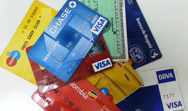 Las tarjetas de crédito aumentan su penetración en Colombia