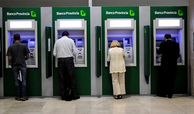 En Argentina el número de ATM de bancos creció un 19% entre 2012 y 2014