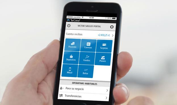 CaixaBank, mejor banco del mundo en servicios de banca móvil