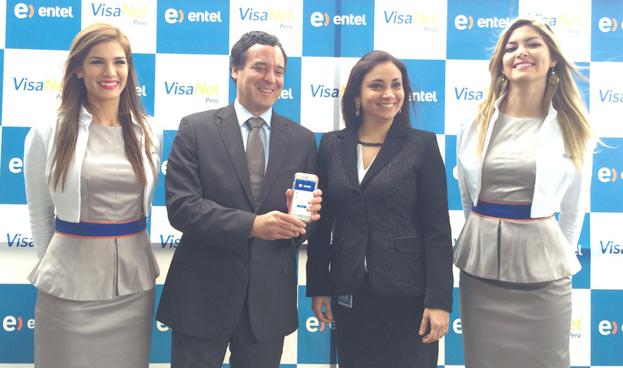 Entel y VisaNet lanzan App para realizar recargas