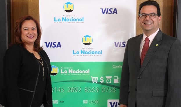 Asociación La Nacional y Visa lanzan nueva tarjeta de crédito Visa ConfiaMás para la población de menores ingresos