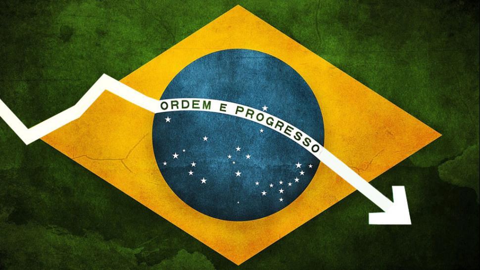 Malo: economía de Brasil se contrae 1,9% y se confirma recesión