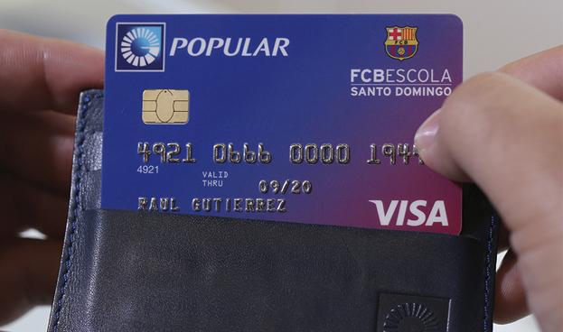 En Rep. Dominicana Banco Popular lanza tarjeta verde Visa FCB Escola