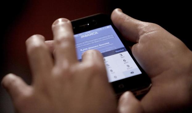 Banca móvil cada vez con más usuarios