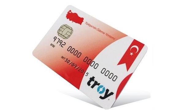 TROY la marca turca de tarjeta de crédito de Turquía