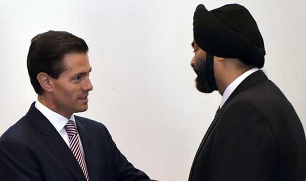 El Presidente mexicano recibió al CEO de MasterCard