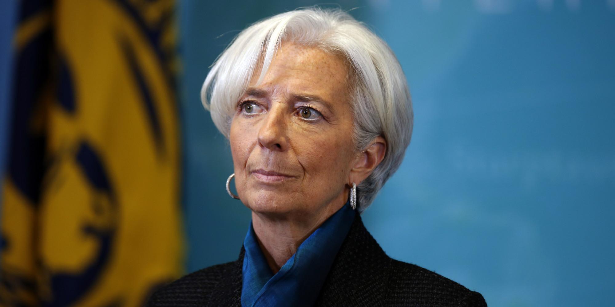 Para Lagarde, el crecimiento global será decepcionante durante 2016