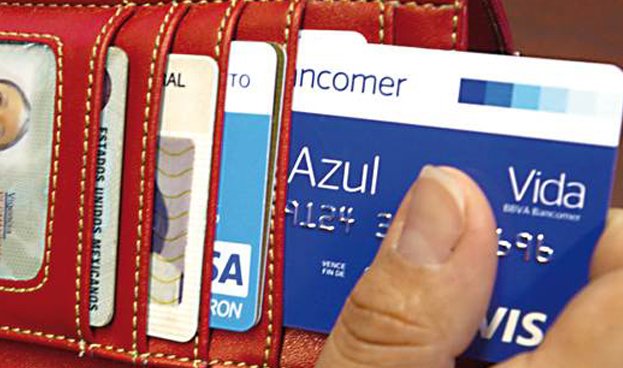 Bancomer: Crecerá uso de crédito vía tarjetas en México