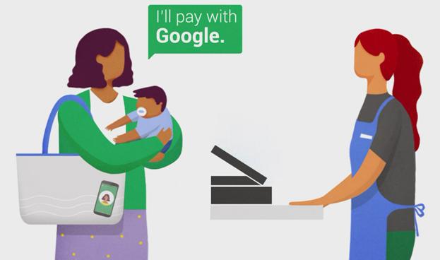 Google pone a prueba un método de pago manos libres