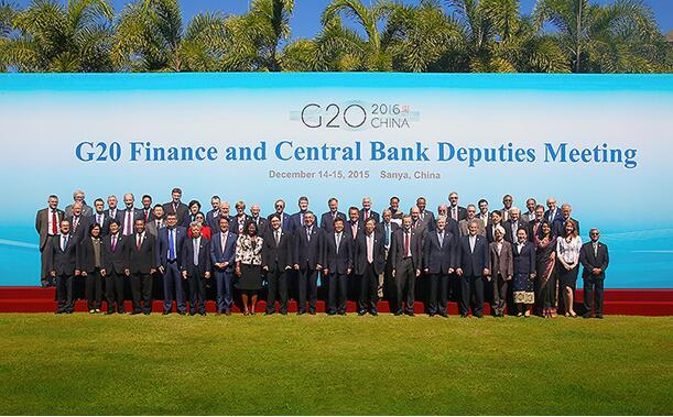 La economía del G20 se desacelera a 3.2% en 2015