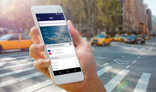 Ventajas de la app de viajes actualizada de Visa Europe