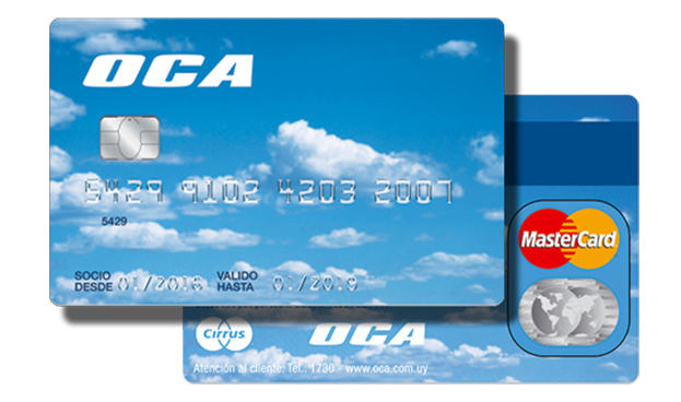 Mastercard cierra un acuerdo con OCA, la tarjeta de los uruguayos
