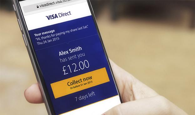 Visa Direct expande su alcance con servicios de pago persona a persona