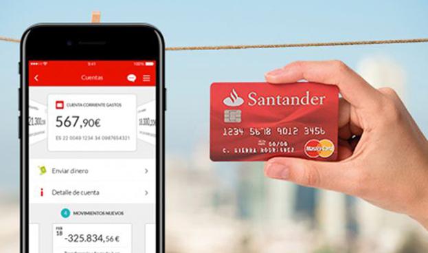 El Santander empuja la digitalización de banca móvil en América