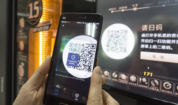 El efectivo se vuelve obsoleto en una China revolucionada por los teléfonos