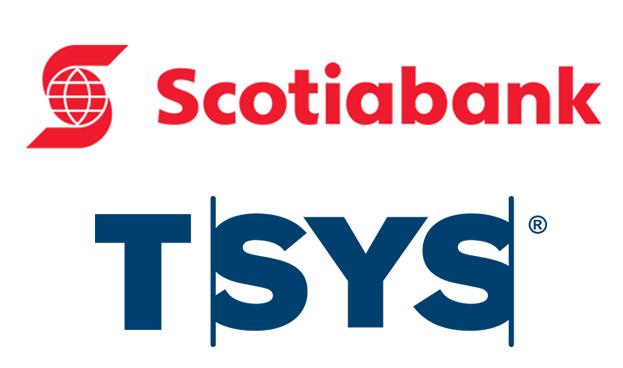 TSYS firma acuerdo que abarca varios países de Latinoamérica con Scotiabank