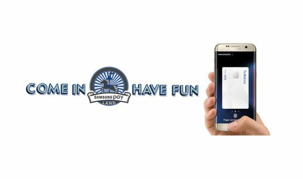 Samsung Pay Land, un espacio para probar el pago con el móvil de Samsung