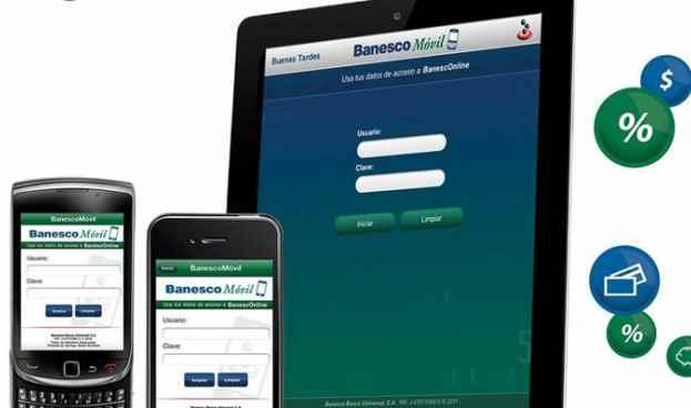 Nueva app BanescoMóvil permite operaciones financieras desde su celular
