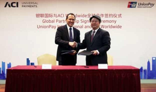 Alianza: UnionPay realiza un acuerdo con ACI Worldwide para potenciar su expansión global