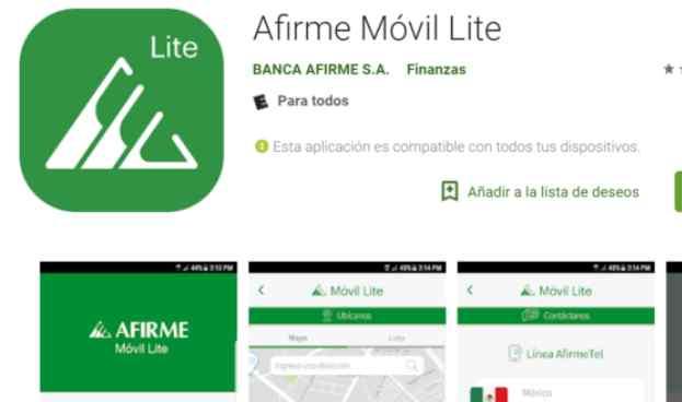 México: Afirme lanza su nueva aplicación para banca móvil