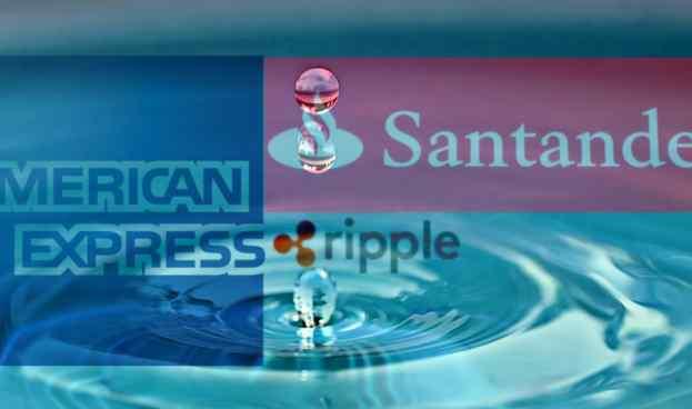 American Express afianza alianza estratégica con Ripple y Santander