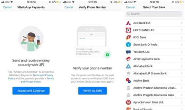 Más de un millón de personas ya estaría usando WhatsApp para hacer sus pagos