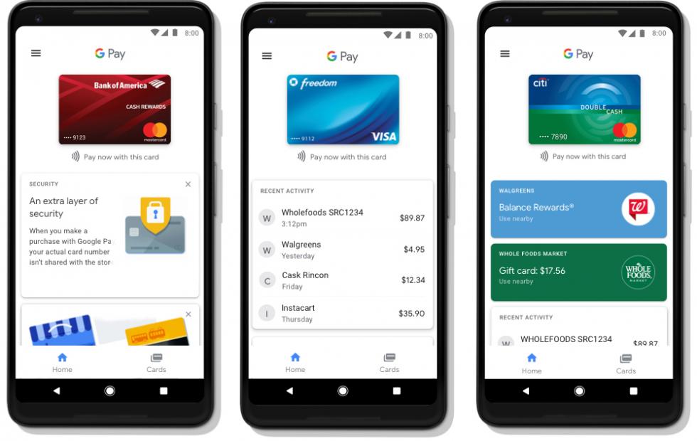 Google Pay te dejará pagarle a amigos, guardar boletos y usar en la Web