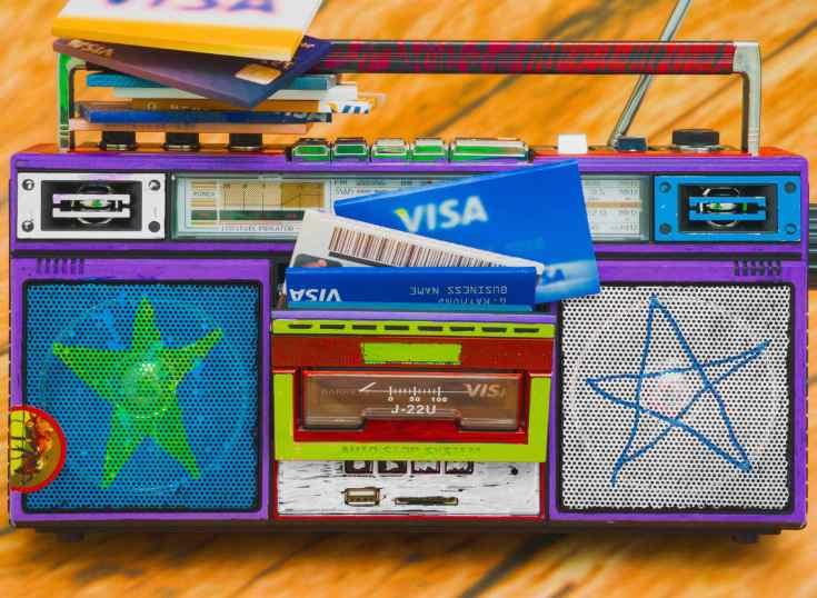 Visa creó un chirrido de audio para identificar sus pagos digitales