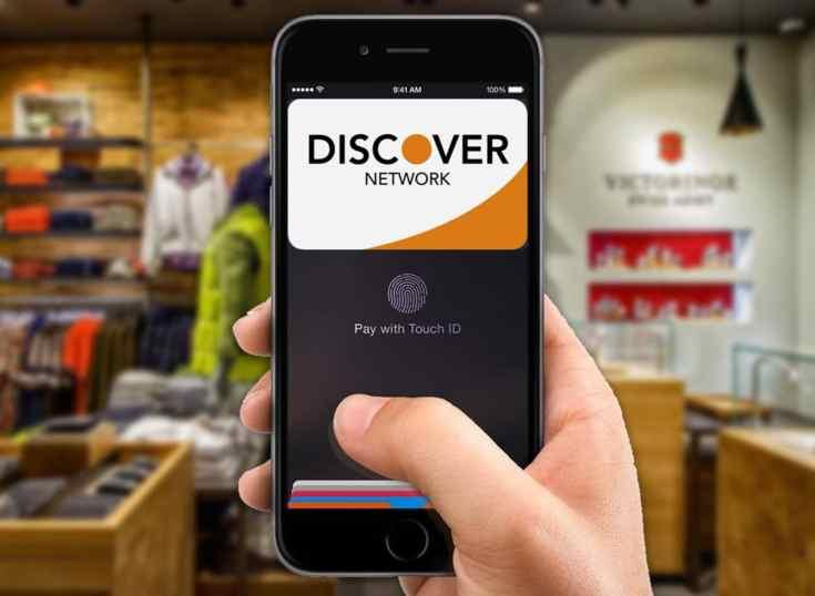 Discover se suma en Apple Pay