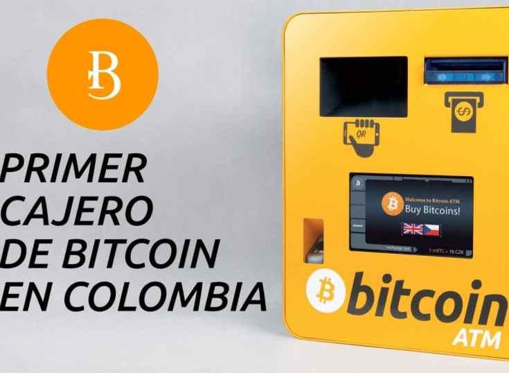 Colombia es el país latinoamericano con más cajeros ATM Bitcoin