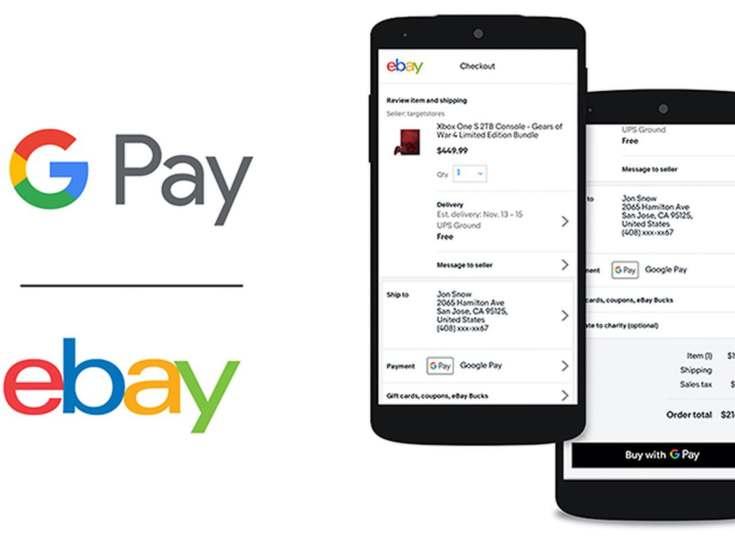 Google Pay se suma a Ebay a partir de abril