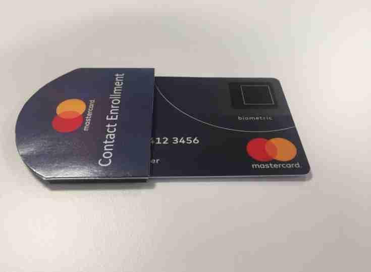Mastercard y Edenred Bank prueban la primera Tarjeta Biométrica en México