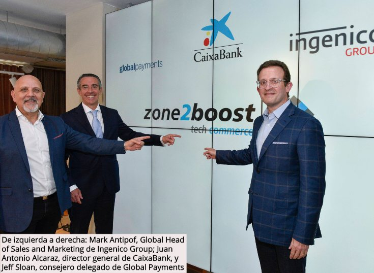 CaixaBank, Global Payments e Ingenico Group crean un programa internacional de innovación
